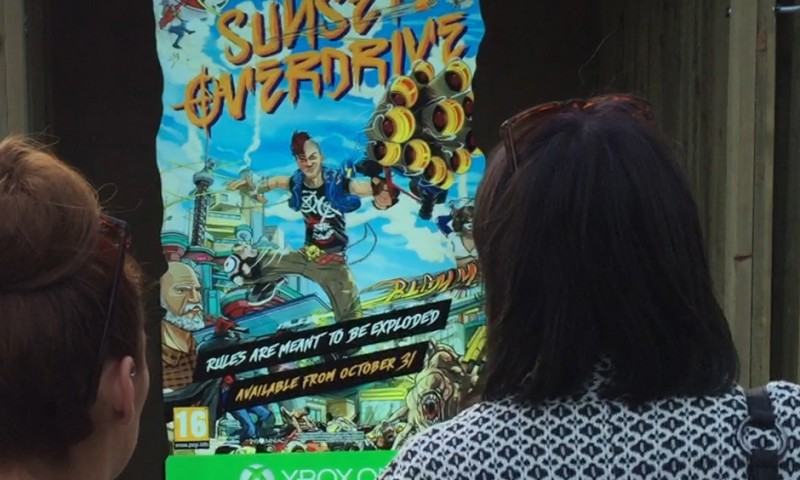 Sunset Overdrive Augmented Reality