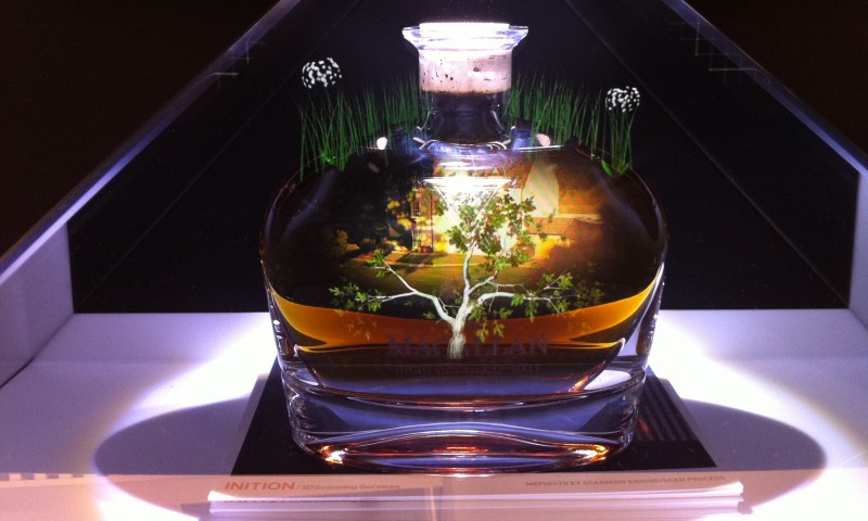 Macallan Holographic Installation